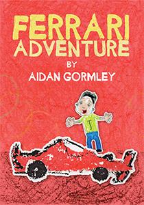 4. Ferrari Adventure - Aidan Gormley - Book Cover